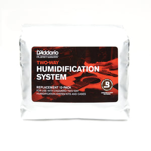D'Addario Two-Way Humidification Replacement 12 pack