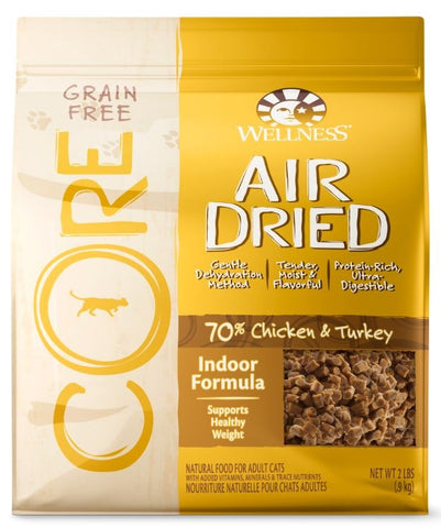 Wellness CORE Air Dried Natural Grain Free Adult Indoor Recipe Dry Cat Food