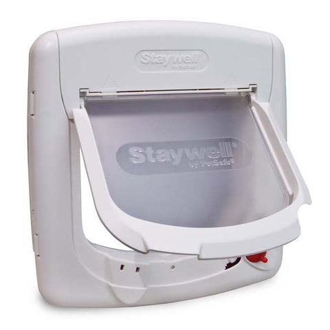 PetSafe 4 Way Locking White Cat Door