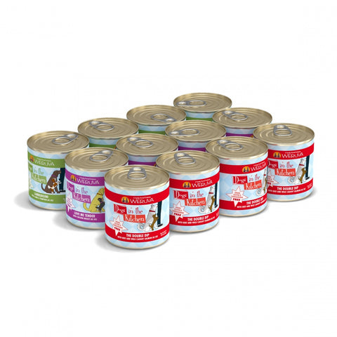 Weruva Dogs in the Kitchen Grain Free Doggie Dinner Dance! Variety Pack Canned Dog Food