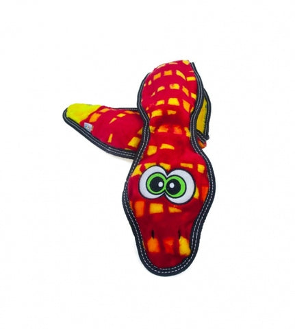 Outward Hound Tough Seamz Snake Plush Dog Toy