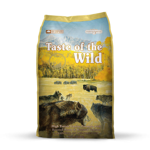 Taste of the Wild - Grain Free HIGH PRAIRIE | Bison & Venison Flavor
