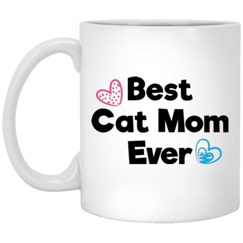 Best Cat Mom Ever Coffee Mug