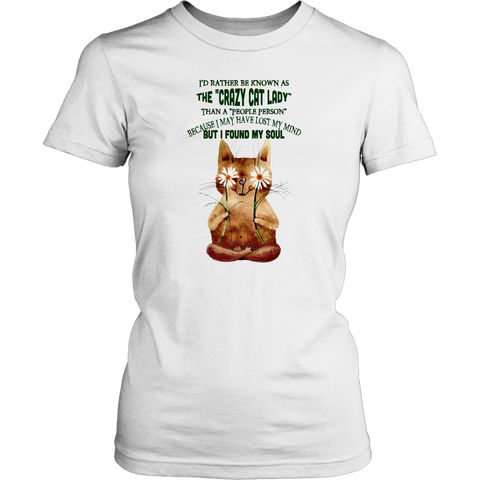 Crazy Cat Lady T-shirt for Women