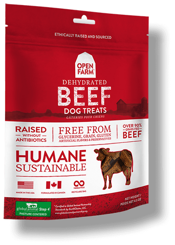 Open Farms Dehydrated Beef Treats