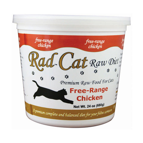 Rad Cat Frozen Raw Cat Food