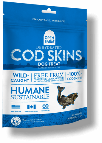 Open Farms Dehydrated Cod Skins