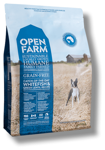 Open Farms Catch-of-the-Season Whitefish & Green Lentil Recipe Grain Free Dry Dog Food