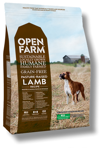 Open Farms Pasture Raised Lamb Recipe Grain Free Dry Dog Food