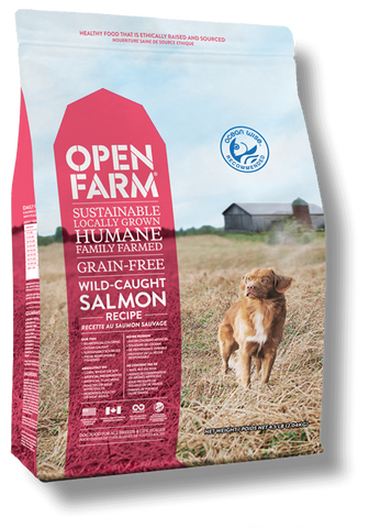 Open Farms Wild-Caught Salmon Recipe Grain Free Dry Dog Food
