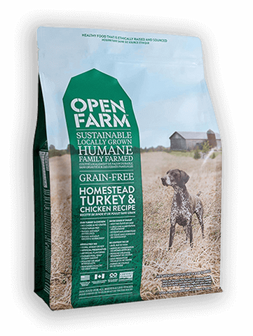 Open Farms Homestead Turkey & Chicken Recipe Greain Free Dry Dog Food