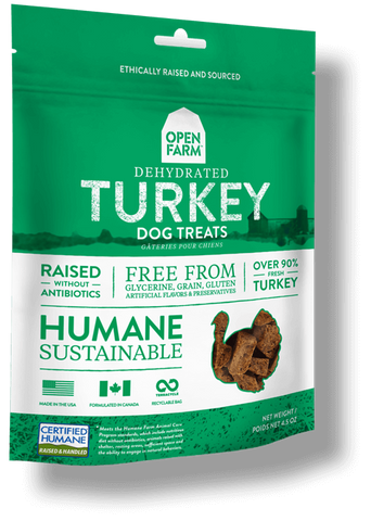 Open Farms Dehydrated Turkey Treats