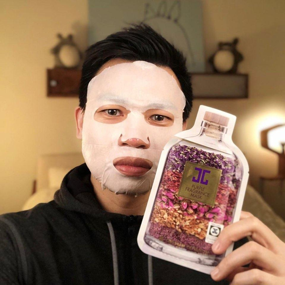 Jayjun Purple Fragrance Mask Review - M Review 84