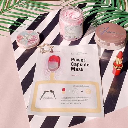 Mini Mask Review: Oozoo Power Capsule Mask Recovery - M Review 92