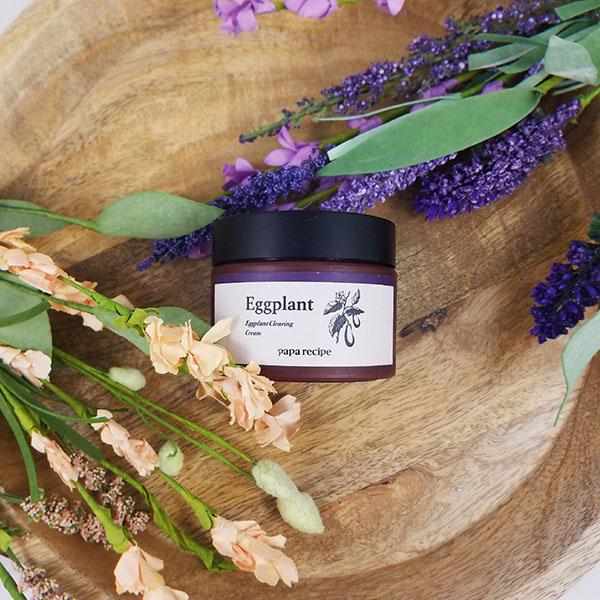 Prepare for colder weather with the Papa Recipe Eggplant Clearing Cream - M Review 45