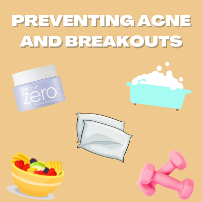 Preventing Acne and Breakout