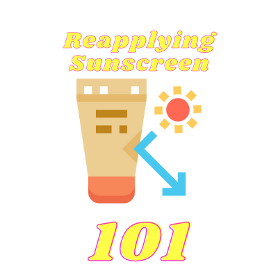 Sunscreen reapplication product