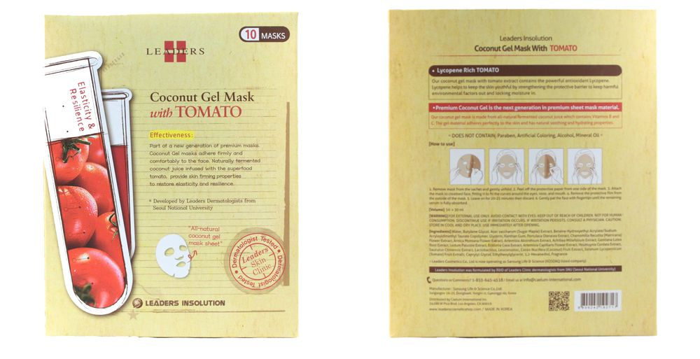 Leaders - Coconut Gel Mask with Tomato