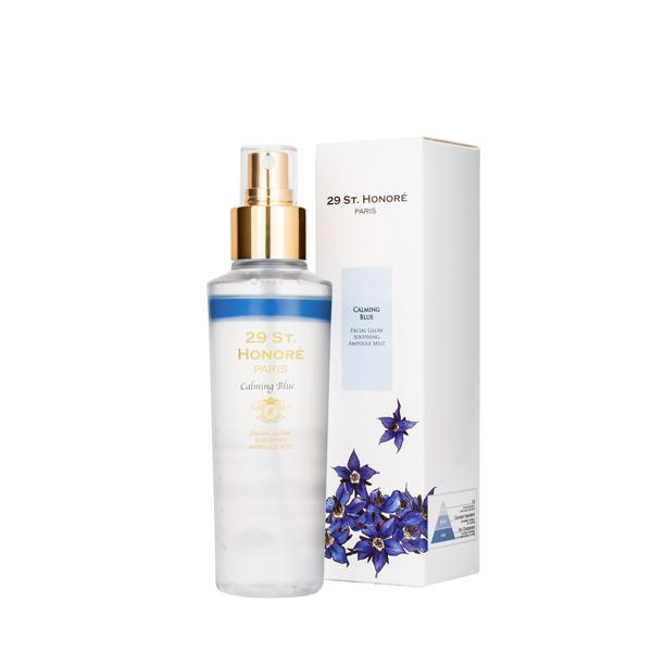 Facial Glow Hydrating Ampoule Mist - Calming Blue
