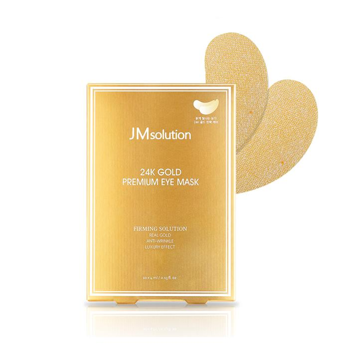 24K Gold Premium Eye Mask - 1 Box of 10 Sheets