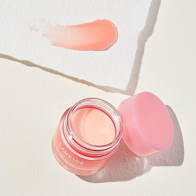 Lip Sleeping Mask - Berry