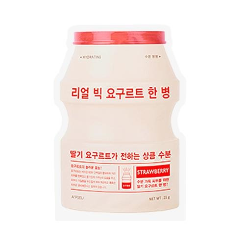 Real Big Yogurt One Bottle Strawberry - 1 Sheet