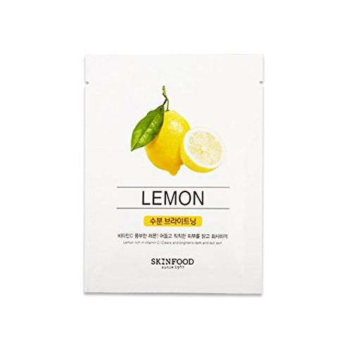 Beauty in a Food Mask Sheet, Lemon