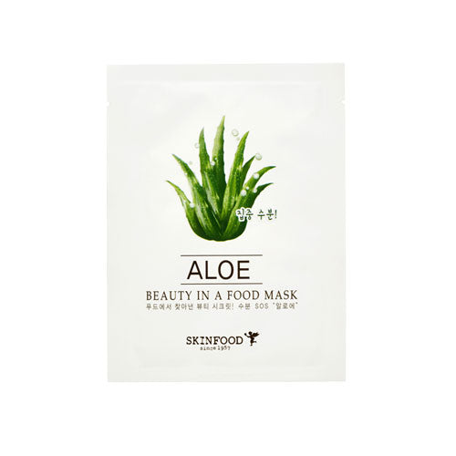 Beauty in a Food Mask Sheet, Aloe