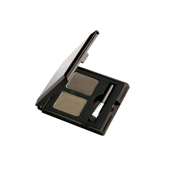 Choco Eyebrow Powder Cake - 1 Grey Khaki Black