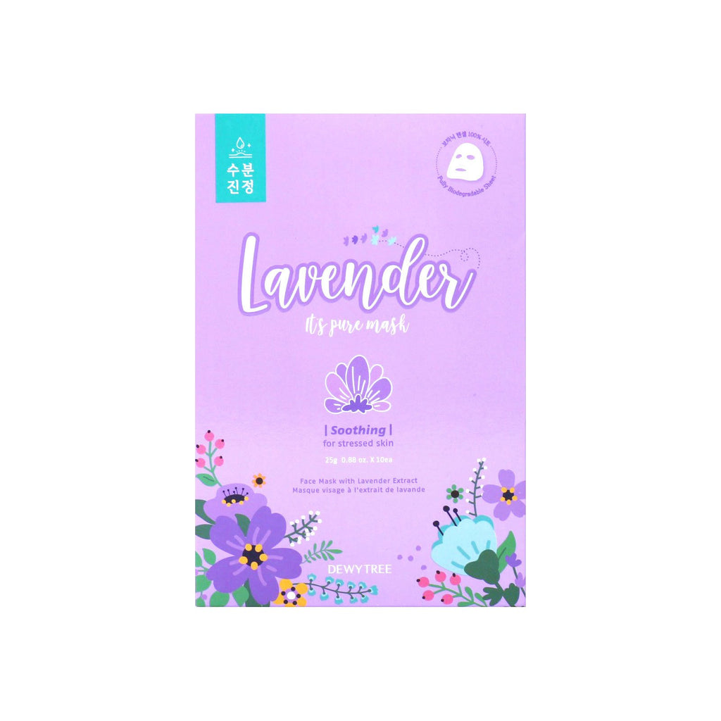 It's Pure Lavender Mask -1 Box of 10 Sheets
