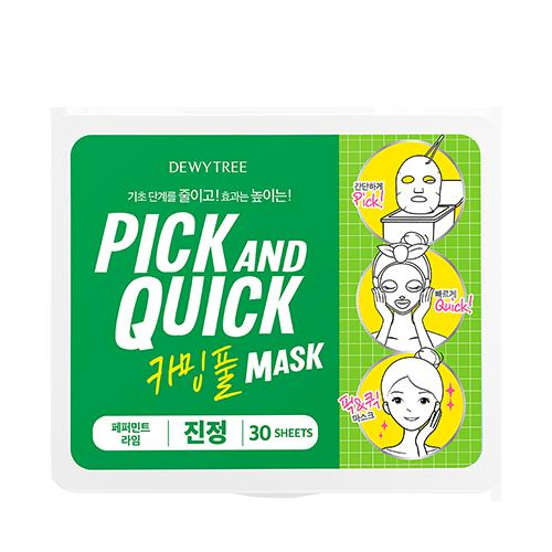 Pick and Quick Calming Full Mask - 30 Sheets
