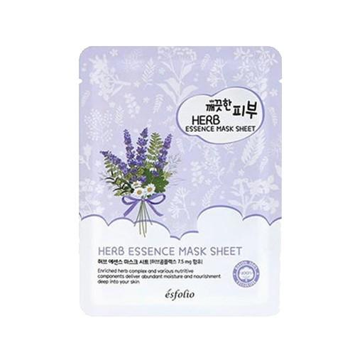 Pure Skin Herb Essence Mask Sheet - 1 Box of 10 Sheets