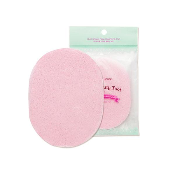 My Beauty Tool Oval Shape Face Cleansing Puff