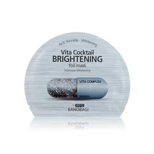 Vita Cocktail Brightening Foil Mask - 1 Box of 10 Sheets