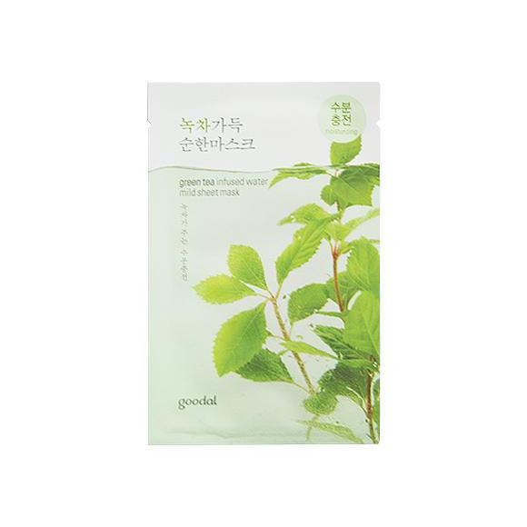 Mild Sheet Mask - Green Tea 1 Sheet