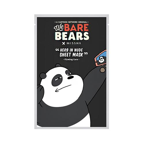 Herb in Nude Sheet Mask We Bare Bears - Firming Care