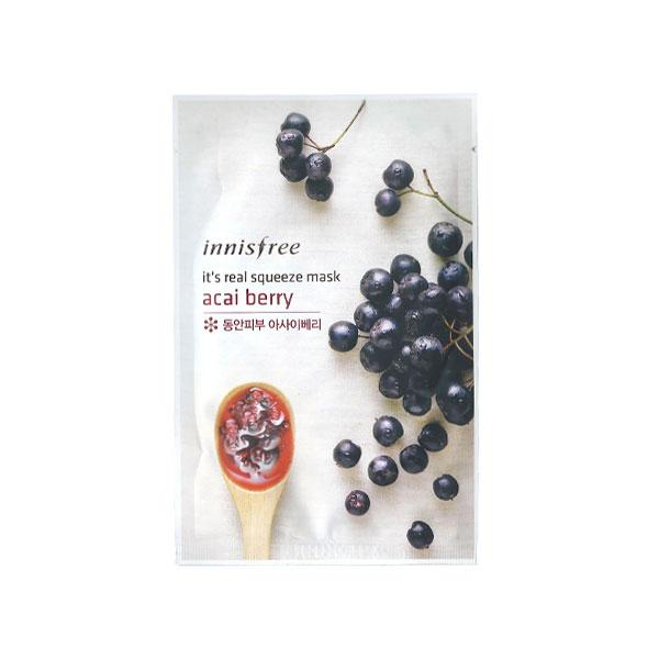 It's Real Squeeze Mask - Acai Berry - 1 Sheet