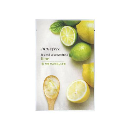 It's Real Squeeze Mask Lime - 1 Sheet