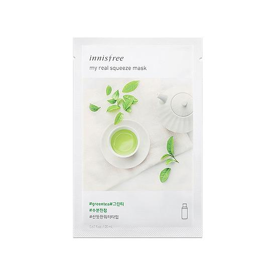 My Real Squeeze Mask - Greentea NEW
