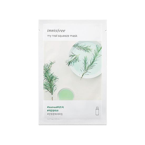 My Real Squeeze Mask - Tea Tree NEW