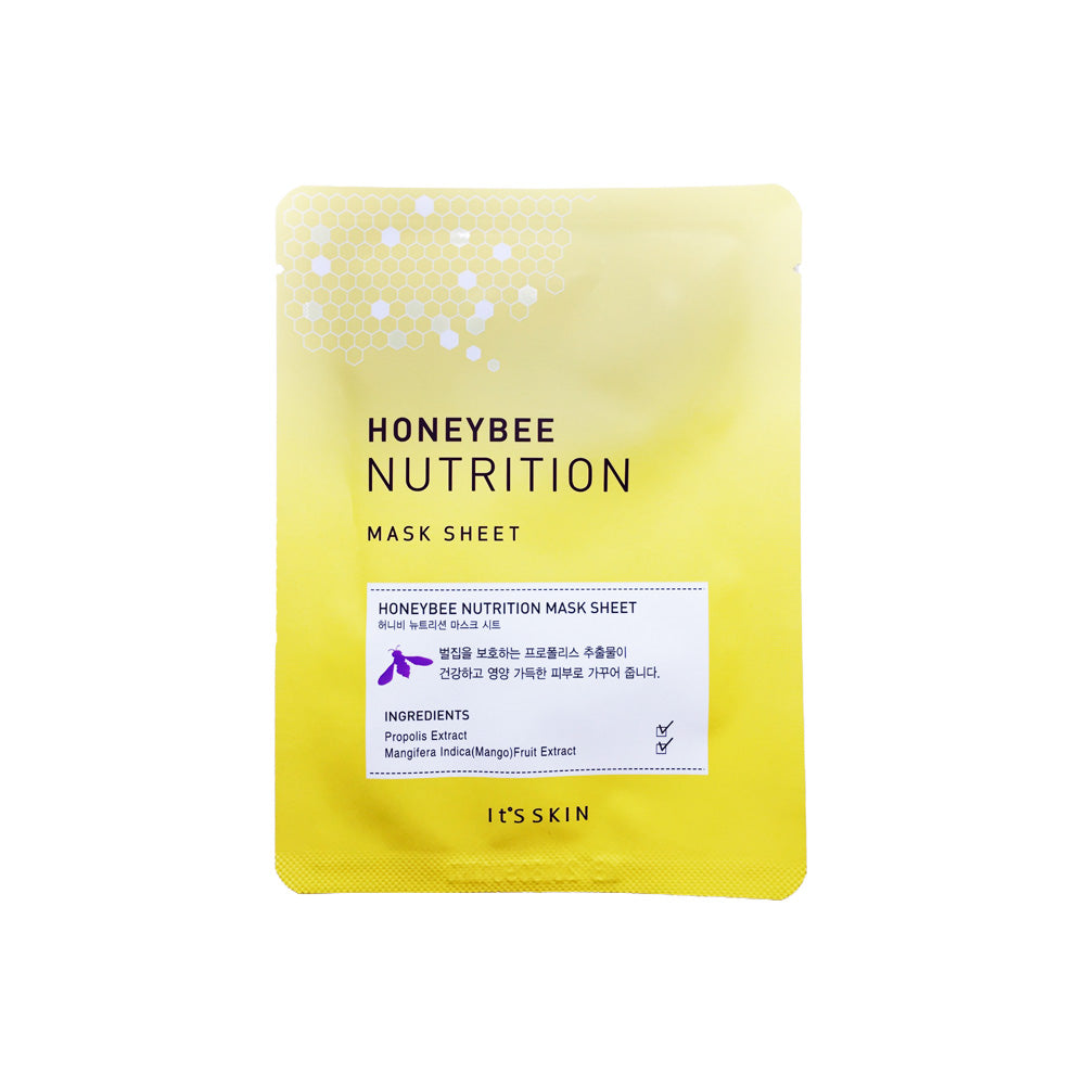 Honeybee Nutrition Mask Sheet - 1 Sheet