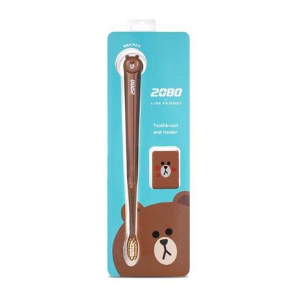 Line Friends Toothbrush - Brown