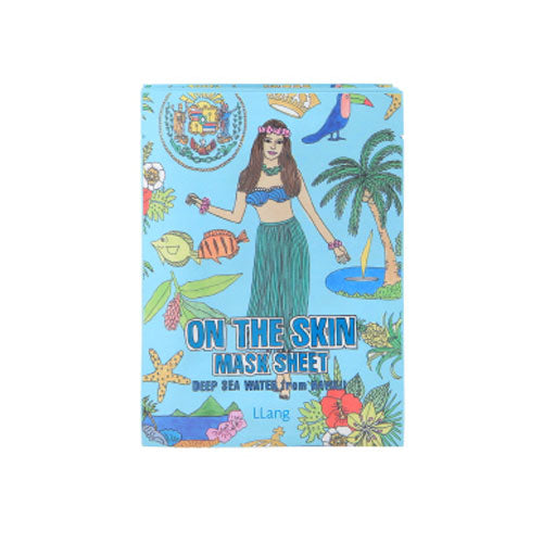 On the Skin Mask Sheet Deep Sea Water from Hawaii