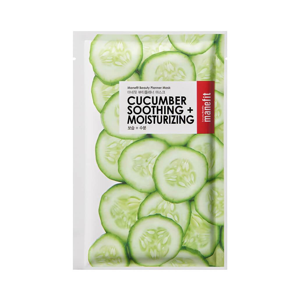 Beauty Planner Mask - Cucumber Soothing + Moisturizing