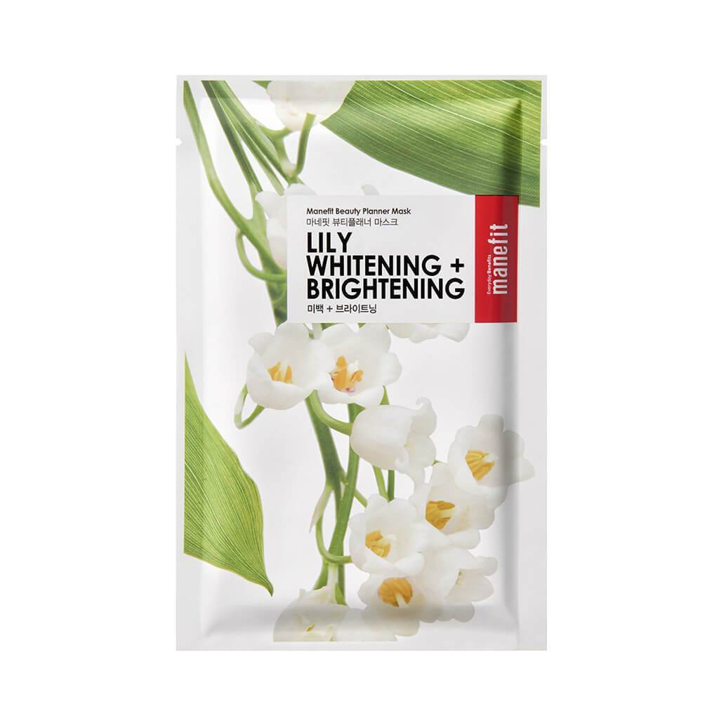 Beauty Planner Mask - Lily Whitening + Brightening