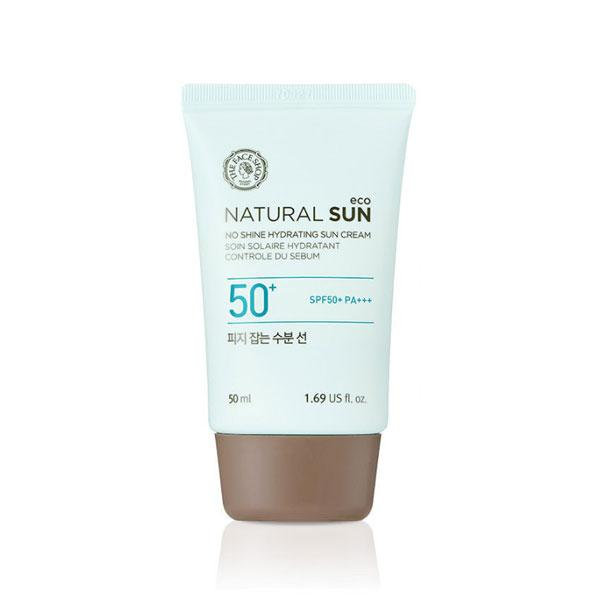 Natural Sun Eco No Shine Hydrating Sun Cream SPF50-PA+++