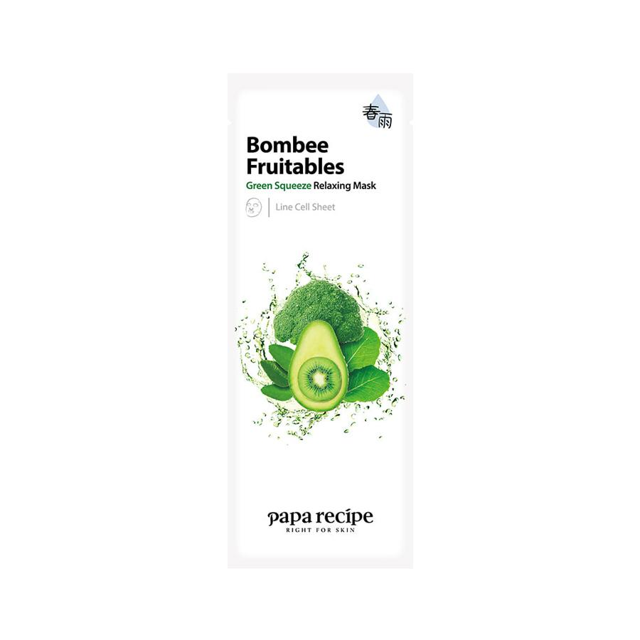 Bombee Fruitables Green Squeeze Relaxing Mask