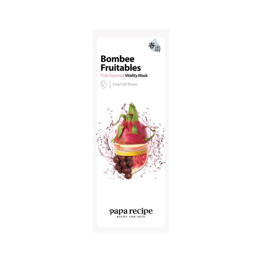 Bombee Fruitables Pink Squeeze Vitality Mask