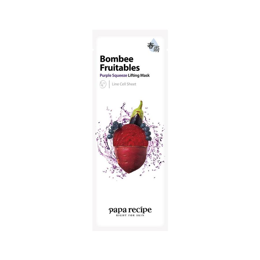 Bombee Fruitables Purple Squeeze Lifting Mask
