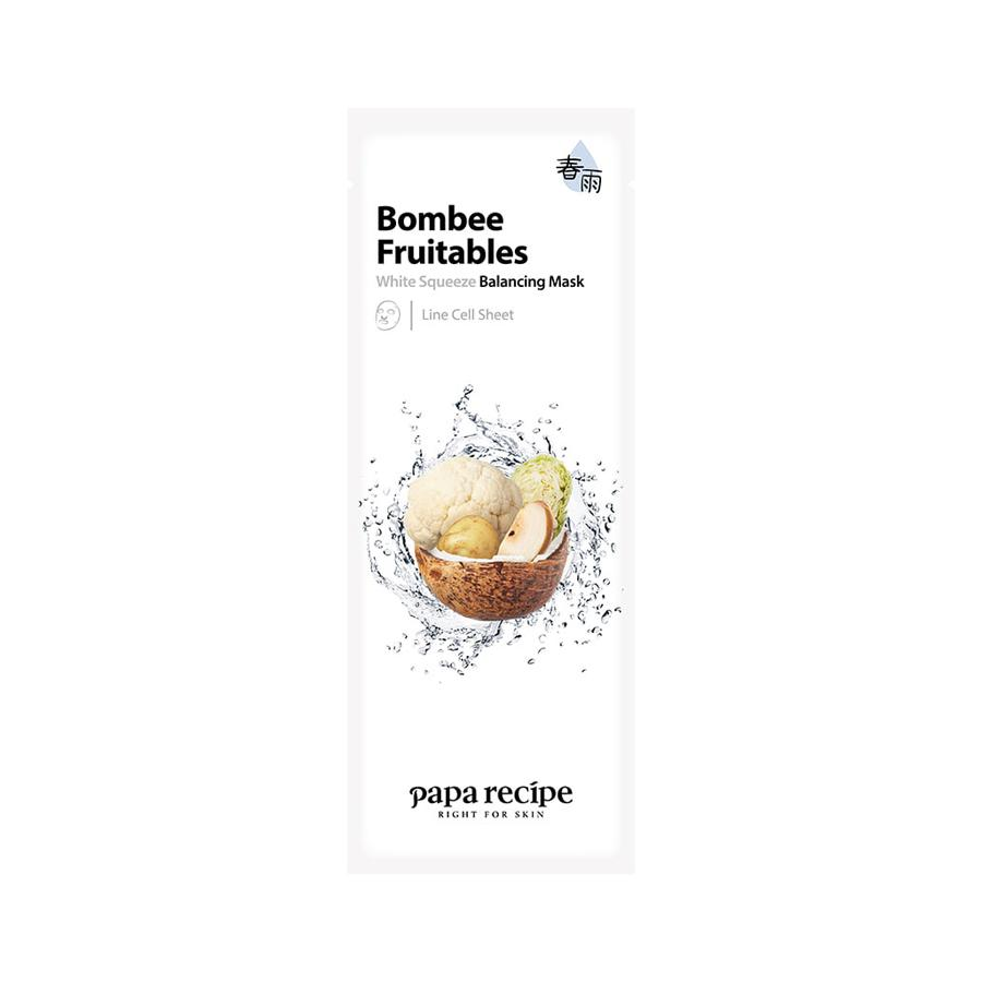 Bombee Fruitables White Squeeze Balancing Mask